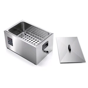 HIGH PRECISION WARMER WITH TEMPERATURE CONTROL - MOD. SOFTCOOKER GN1/1R - Drain tap - TEMPERATURE °C +24/+99 - SUPPLY V 230/50Hz SINGLE PHASE - POWER W 1700 - EC STANDARDS