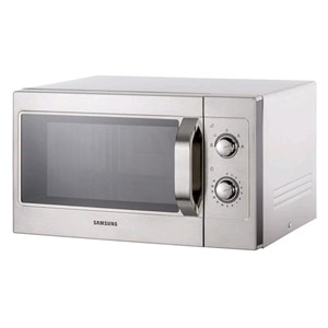 STAINLESS MICROWAVE OVEN-MOD. CM1099A-MANUAL CONTROLS-structure and STAINLESS STEEL CHAMBER-CHAMBER capacity Lt. 26-230V-POWER 1100 W POWER-dimensions cm. L 51.7 41.2 x 29.7 x P h