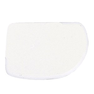 POLYPROPYLENE SCRAPER - DIMENSIONS mm. 120x87