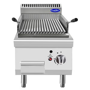COUNTERTOP GAS LAVA STONE GRILL - Mod. CV7I4EOE - Power kW 7 - Dimensions cm L 40 X D 70 X H 54,7 - CE approved