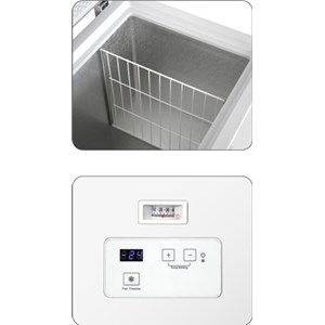 CHEST FRIDGE FREEZER - Mod. AX/CD - Static cooling - Manual defrost - anaglogical thermometer - Temperature +8º/-24º C - Energy rating A+