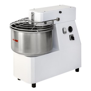 FIXED HEAD SPIRAL MIXER - Mod. MDVE 30 - Three phase 400V - Bowl capacity 33 L - Dough capacity 25 kW - Power  1,3 kW - CE approved