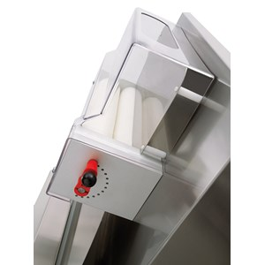 PIZZA DOUGH SHEETER - PIZZA ROLLING MACHINE - 2 SETS OF ROLLERS (parallel rollers) - Mod. TO 42 VC - Roller length cm 40 - Power hp 0,50 - Single phase 230 V - CE approved