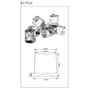 FULL CUBE ICE MACHINE - SPRAY SYSTEM - Cod. SK 35 - CUBE TYPE: M/L - CUBE: gr 22/34 - AIR-COOLED VERSION PRODUCES UP TO 33 kg/24h - WATER-COOLED VERSION PRODUCES UP TO 35 kg/24h - Dim. cm L 43,5 x D 60,5 x H 69,5 - CE approved