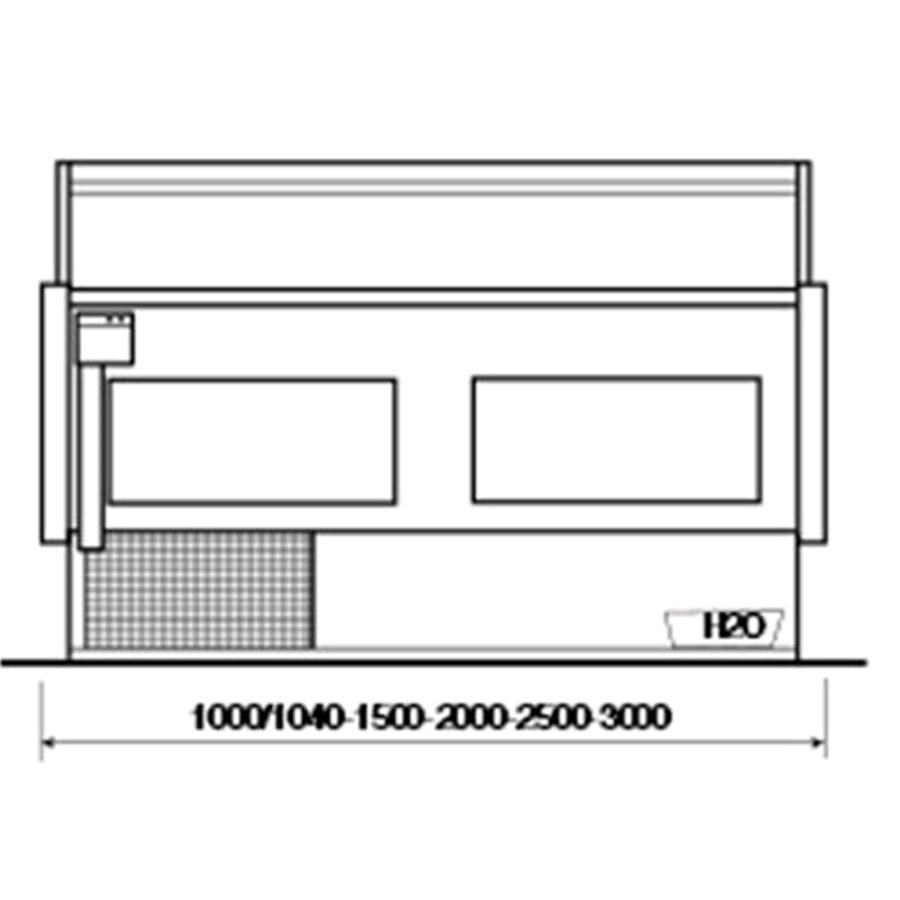 Refrigerated Serve Over Display Counter Ideal For The