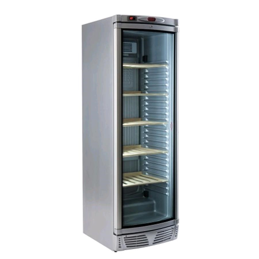 Refrigerated Display Cabinet For Wine Mod Silver Wine